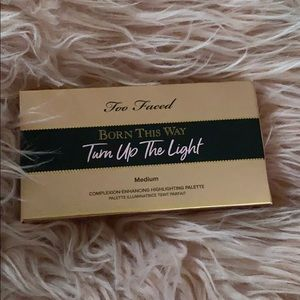 Too faced born this way turn up the light palette